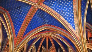 Sainte Chapelle, Paris, Untere Kapelle