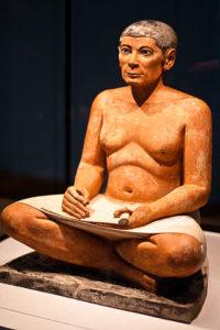 Der sitzender Schreiber, Louvre, Paris