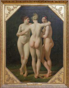 Die drei Grazien, Louvre, Paris