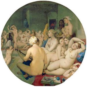 Das türkische Bad, Louvre, Paris