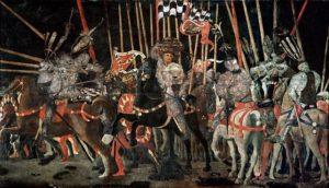 Die Schlacht von San Romano, Louvre, Paris