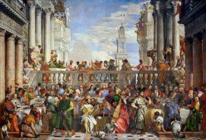 Die Hochzeit von Kanaa, Louvre, Paris