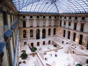 Innenhof, Louvre, Paris