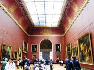 Louvre, Paris, Die roten Räume