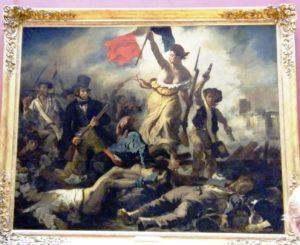 Die Freiheit führt das Volk, Louvre, Paris