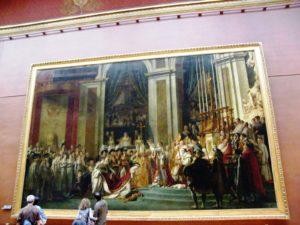 Die Krönung Napoleons I., Louvre, Paris