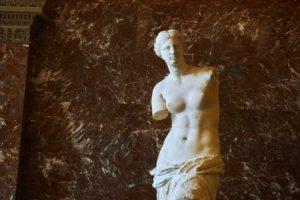 Aphrodite, genannt Venus von Milo, Louvre, Paris