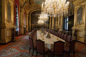 Speisezimmer von Napoleon III., Louvre, Paris
