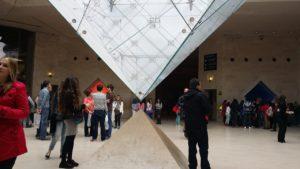 Unter der Pyramide, Louvre, Paris